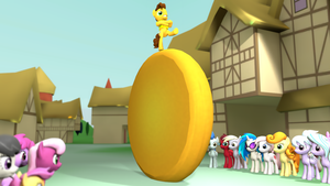 The Big Ol' Cheese (Sandwich) Wheel by NightB1ader