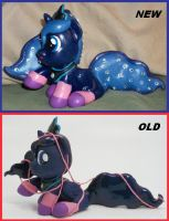 Filly Princess Luna COMPARISON which do you prefer by MadPonyScientist