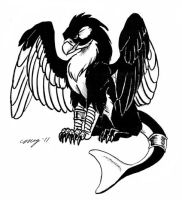 Orca Gryphon by Dustmeat