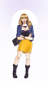 Black Canary by ElizabethBeals