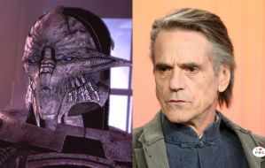 Mass Effect Fan Cast #11: Jeremy Irons as Saren by ImWithStoopid13