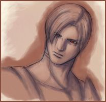 RE4: La Plaga Leon by celyne