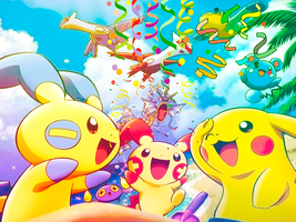 Pokemon Background by wh47