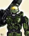 Master Chief Color by shadwgrl