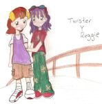 Twister and reggie by Sakurith