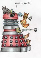 Dalek in a pickle... coloured by hypnocampus