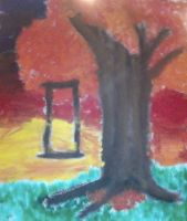 Tree in the Sunset by SilverLizzy5