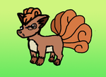 Specs the Vulpix by MetaKnight2716
