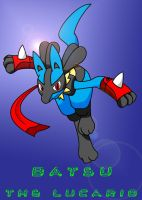 Batsu The Lucario - Remastered by HogtiedLucario