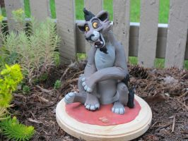 The Lion King Nuka Sculpture by WickedSairah
