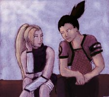 Shikamaru and Ino by Rel-Rogue