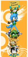 Tower of Racoons by Doodlett