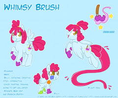 Pony OC - Whimsy Brush by Genolover