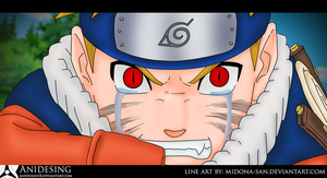 Digital Paint Naruto by Anidesign18