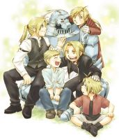 The brothers Elric by lovefma