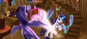 Fighting is Magic (Level 2) by DSC-the-Artist