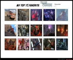 Jefimus Top 15 Favorite Transformers Prime Episode by JefimusPrime