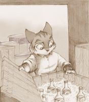 first panel by Foxenawolf
