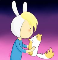 Fionna and Cake n.n by Isabel-Gomez-xD