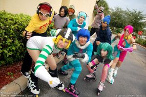 Jet Grind Radio comin at ya by silvver