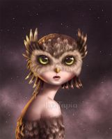Owl by LuzTapia