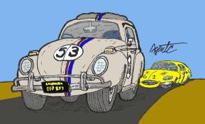 Herbie recoloring by LittleBigDave