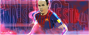 Andres Iniesta by akyanyme