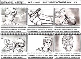 Bishop's Battle:Storyboard by j3px