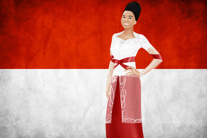 ASIA: Indonesia by FalseDisposition