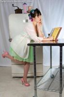Maternity Pin Up Cooking by Della-Stock