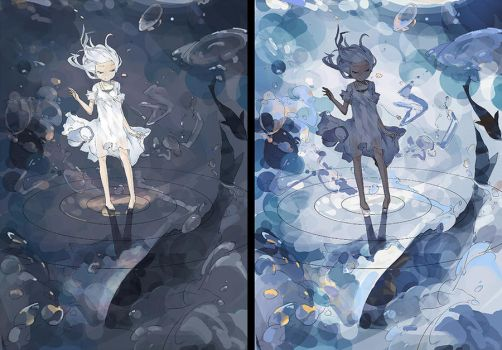 WHICH ONE YOU LIKE? L or R? by DanEvan-ArtWork