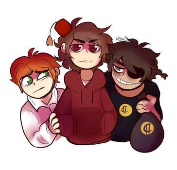 The first members of the Judas' crew by Slice-of-Eyebrows