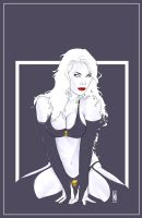 Lady Death 12 Art Deco Cover by MDiPascale