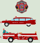 High Point Fire Department - Vintage Apparatus ANI by bar27262