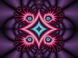 Kaleidoscope Design 6 by DennisBoots