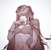 Tharja Sketch by raikoart