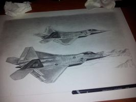 WIP F22 Raptor by solidx86