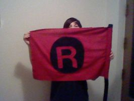 Team Rocket flag by oohcoo