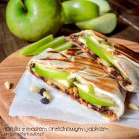 Peanut butter and apple wrap by Pokakulka