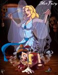 Twisted Princess: Blue Fairy by jeftoon01