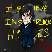 I Believe In Sherlock Holmes by Melodious-Artist