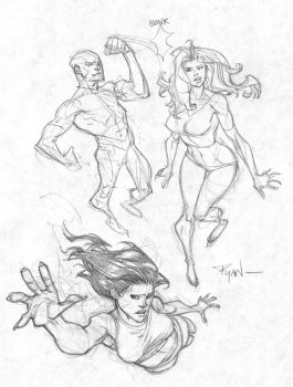 Randumb sketches by RyanOttley