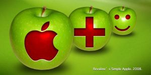 Revaline's Simple Apple Win by regendra