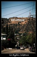 Los Angeles, California by Frall