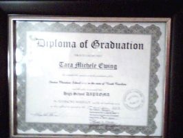 MY DIPLOMA: I DID IT! by SupernovaSword