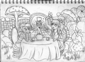 Sketch of a contest entry by xBeyondTheGalaxies