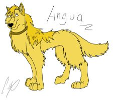 Angua in her wolf form by Wolfdog27