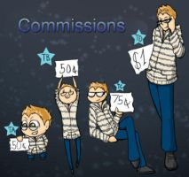 Commissions are OPEN by Tobixi
