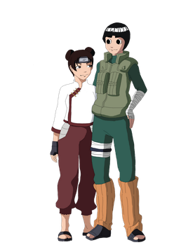 Rock Lee X Tenten by Mizuffy