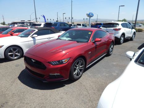 2017 Ford Mustang GT Coupe by TheHunteroftheUndead